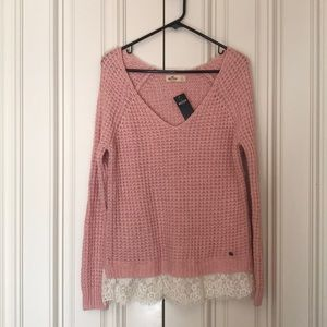 Knitted sweater from Hollister